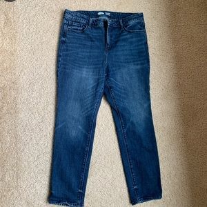 Old Navy Power Straight high rise jeans, 14